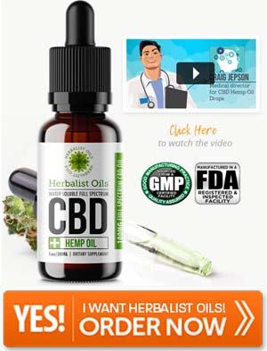 Herbalist Oils CBD Drops